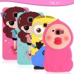 (128-102)เคสมือถือซัมซุง Case Samsung A9 Pro เคสนิ่มการ์ตูนน่ารักๆ 3D