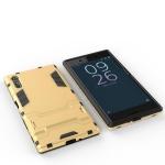 (002-215)เคสมือถือโซนี่ Sony Xperia XZ เคสขอบนิ่มเกราะพลาสติกสไตล์ไอรอนแมน