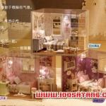 (331-003)แบบบ้านประดิษฐ์ DIY โมเดลห้องนอน 3 สไตล์วินเทจ