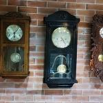 นาฬิกา3ลานjunghans sizeหน้า หน้า9นิ้ว รหัส28659wc