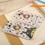(151-273)เคสมือถือซัมซุงโน๊ต Case Note4 เคสนิ่มใสขอบอะคริลิคพร้อมแหวนตั้งโทรศัพท์ลาย Totoro