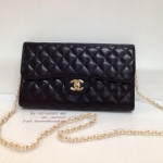 Chanel Wallet on Chain or WOC Lamb Leather Premium
