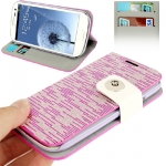 Case Flash Lines Samsung Galaxy S 3 III (Purple)
