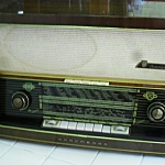 วิทยุหลอด nodemende traviata 58 3ลำโพง ปี1957/1958