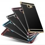 (547-008)เคสมือถือซัมซุง Case Samsung A9 Pro เคสนิ่มขอบสีแฟชั่นน่ารักๆ สวยๆ