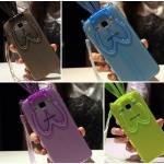 (440-056)เคสมือถือซัมซุง Case Samsung Galaxy J5 เคสนิ่มใสกระต่ายหูยาว