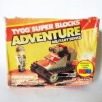 Tyco Super Blocks-ADVENTURE Military Series-Field Tank