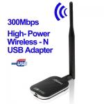 USB wireless wifi KINAMAX 300Mbps 500mW 27dBm