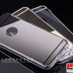(027-045)เคสมือถือไอโฟน Case iPhone 6 เคสนิ่มใสสุดหรูสวยแปลกตาลายเส้นสีทอง