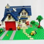 LEGO 5891 Creator Apple Tree House ประกอบแล้วครบชุด
