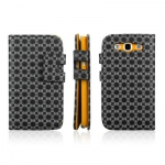 Case ENKAY Plum Blossom Samsung Galaxy S 3 III (Black)