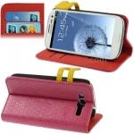Case เคส Weave Samsung Galaxy S 3 III (Magenta)