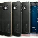 (151-205)เคสมือถือซัมซุง Case Samsung S6 เคสนิ่มขอบพลาสติกสไตล์ SPIGEN