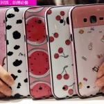 (440-043)เคสมือถือซัมซุง Case Samsung Galaxy J5 เคสนิ่มขอบสีพื้นหลังลายสวยๆน่ารักๆ