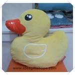 หมอนอิง ตุ๊กตาเป็ดฮ่องกง B Duck ขนาดใหญ่ พร้อมผ้าห่มแยกชิ้นขนาด 3 ฟุต ผ้าขนหนูนุ่มๆ