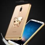 (025-874)เคสมือถือ Case Huawei Nova 2i/Mate10Lite เคสนิ่มแฟชั่นขอบแวว แบบมีแหวนมือถือ/ไม่มีแหวนมือถือ