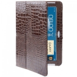 Case เคส Crocodile Samsung Galaxy Note 10.1 (N8000)(Coffee)