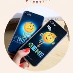 (557-006)เคสมือถือไอโฟน Case iPhone7 Plus/iPhone8 Plus เคสนิ่มTPU ลายนูน 3D The Emoji Movie
