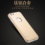 (373-018)เคสมือถือไอโฟน case iphone 6 Plus/6S Plus เคสนิ่มฝาหลังโลหะแบบบางสไตล์ 2 ชิ้น