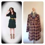 TY's Dresscoat สีม่วง