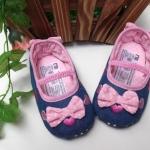 BE2035 (Pre) รองเท้าผ้า สาวน้อย (0-1 ขวบ)