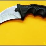 มีดซ้อมควง คารัมบิตไวท์สไปเดอร์ White Spyder Karambit Trainer Knife