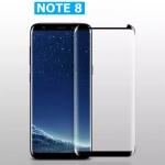 (436-244)ฟิล์มกระจก Note8 กระจกนิรภัย 9H กันรอยขูดขีดกันน้ำกันรอยนิ้วมือ