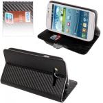 Case เคส High Quality Carbon Fiber Samsung Galaxy Grand Duos (i9082) (Black)