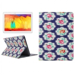 Flower Pattern Protective Case Samsung Galaxy Note 10.1 (2014 Editon) >>> P600