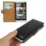 Case เคส Adila Series Smooth Surface HTC One M7 (Black)