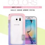 (439-005)เคสมือถือซัมซุง Case Samsung S6 Edge Plus เคสนิ่มบัมเปอร์ Walnutt พร้อมสายคล้อง