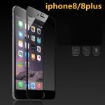(436-255)ฟิล์มกระจก iPhone8 กระจกนิรภัย 9H กันรอยขูดขีดกันน้ำกันรอยนิ้วมือ