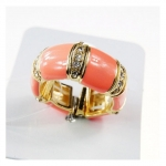 Sweet Pink Shrimp Ring แหวนข้อกุ้งสีชมพูแต่งคริสตัล