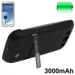 3000mAh Portable Power Bank Samsung Galaxy S 3 III (Black)