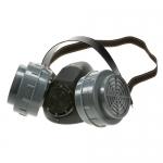 หน้ากากกันสารเคมีแบบครึ่งหน้า ไส้กรองคู่ รุ่น RM-676 (Double Cartridge Respirator)
