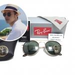 แว่นกันแดด Rayban RB 3647-N Round Double Bridge 001 51-22 145 3N <ทอง>