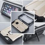 (471-003)เคสมือถือไอโฟน case iphone 6Plus/6S Plus เคสนิ่ม+เกราะหน้าหลัง+ขาตั้ง สไตล์กันกระแทก