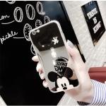 (พร้อมส่ง)เคสมือถือไอโฟน Case iPhone 7 Plus/8 Plus เคสนิ่มซิลิโคนพื้นแววกึ่งกระจก ลายการ์ตูน