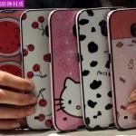 (440-045)เคสมือถือซัมซุง Case Samsung S6 Edge เคสนิ่มขอบสีพื้นหลังลายสวยๆน่ารักๆ