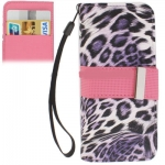 Case เคส Leopard iPhone 5 (Purple)