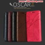 (385-010)เคสมือถือซัมซุงโน๊ต Case Note4 เคสพลาสติกฝาพับ PU ลายคลาสสิคสไตล์ KAD OSCARII