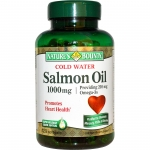 Nature's Bounty, Cold Water Salmon Oil, 1000 mg, 120 Softgels