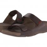 FitFlop Men's Gogh Adjustable Sandals - Brown US 10