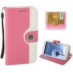 Case เคส 2-color Series Svepa Discoloring Samsung Galaxy S 3 III (Pink)