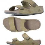 FitFlop Men's Gogh Slide Sport Sandal - Green US 11