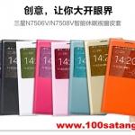 (012-010)เคสมือถือซัมซุงโน๊ต Note3 Neo เคสพลาสติก Flip Cover โชว์หน้าจอแทนฝาหลังเดิม