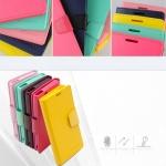 (487-005)เคสมือถือโซนี่ Sony Xperia Z เคสนิ่มสมุดไดอารี่