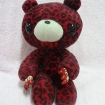 Gloomy Bear Red Leopard.