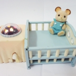 Sylvanian Families : Baby Bedroom Set Light Mobile