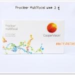 Proclear multifocal คอนแทคเลนส์โปรเกรซซีพ แพค 3 คู่ (สินค้ายกเลิกการนำเข้าแล้ว)